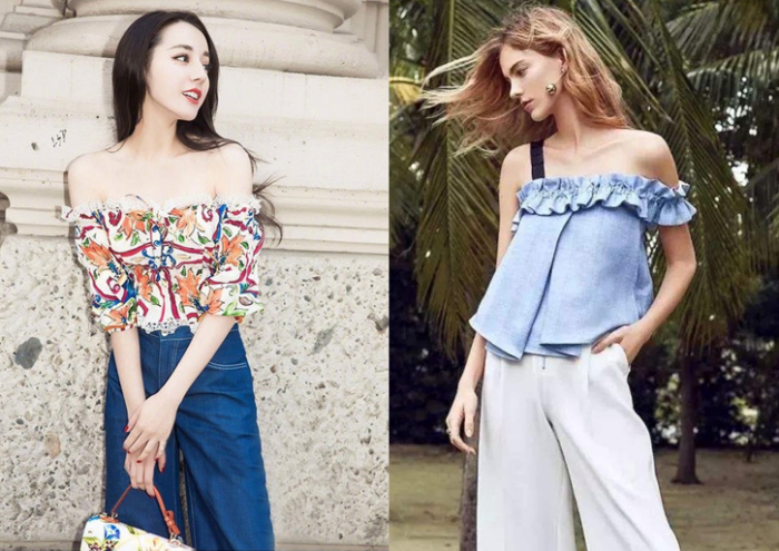How to look slimmer with summer blouses ~ Academie de Bernadac : Academie  de Bernadac